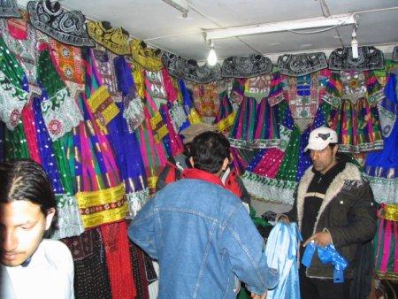 لباس فروشی در کابل