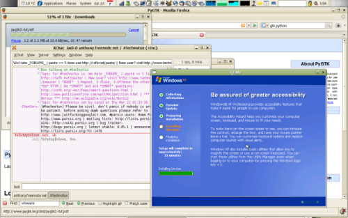 اجرای ویندوز زیر لینوکس